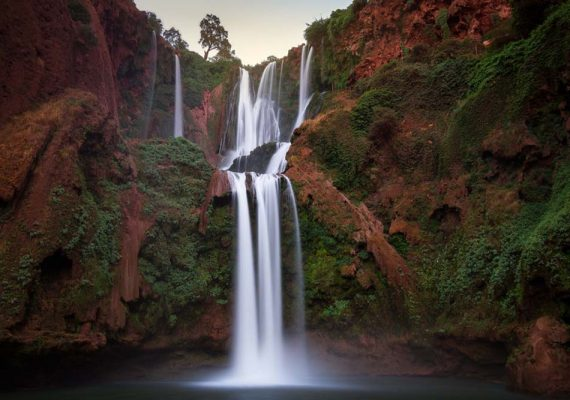Marrakesh to Ouzoud Waterfalls