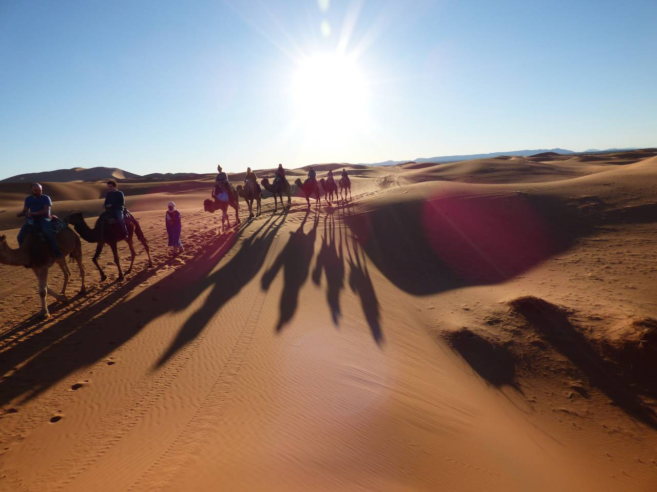 Camel Trekking Excursions in Morocco - morocco-places